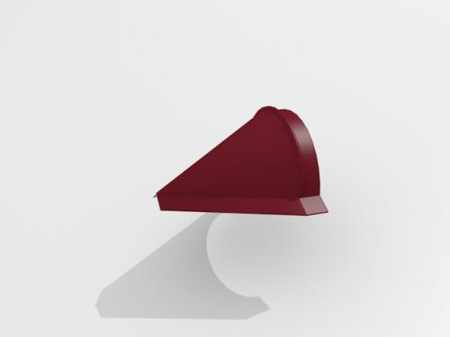 Картинка товара Заглушка конька конусная Интерпрофиль MPE (Матовый полиэстр)