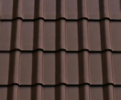 Картинка товара Керамическая черепица ABC Modena 11 орехово-коричневый