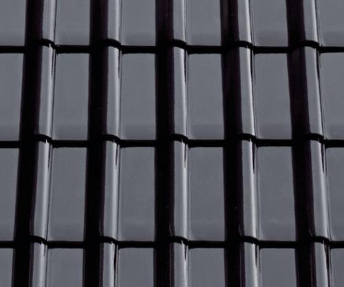 Картинка товара Керамическая черепица ABC Modena 11 бриллиантово-черный