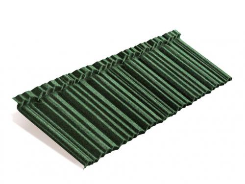 Картинка товара Композитная черепица Metrotile MetroShake II Зеленый