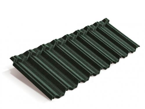 Картинка товара Композитная черепица Metrotile MetroClassic Темно-зеленый