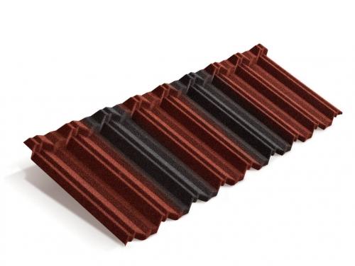 Картинка товара Композитная черепица Metrotile MetroClassic Красно-черный
