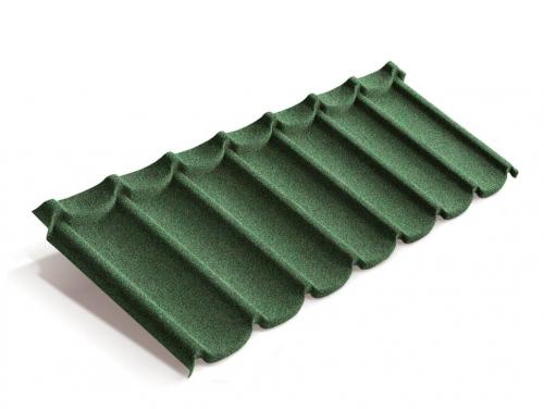 Картинка товара Композитная черепица Metrotile Mistral Зеленый