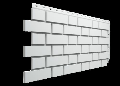 Картинка товара Фасадные панели Деке Flemish под белый кирпич