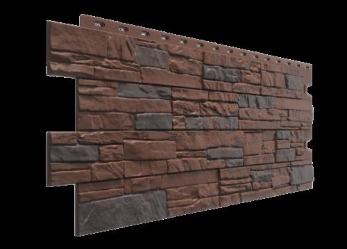 Картинка товара Фасадные панели Деке Stein Тёмный орех