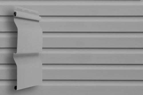 Картинка товара Сайдинг Grand Line Корабельный брус D4 Slim серый