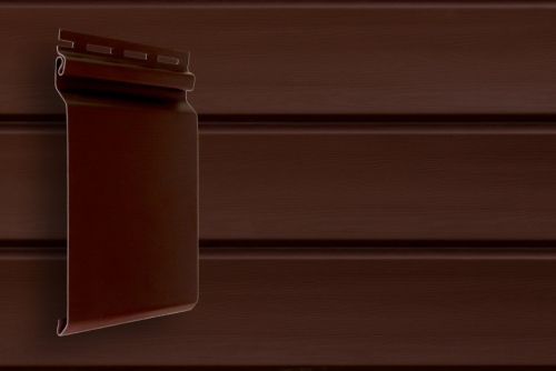 Картинка товара Сайдинг Grand Line Natural-Брус S7 Акрил темный дуб