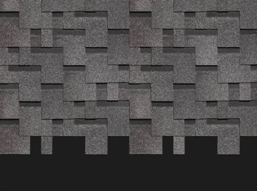 Картинка товара Мягкая кровля Docke Лабиринт Серый