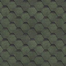 Картинка товара Финская черепица Технониколь Шинглас Соната Зеленый