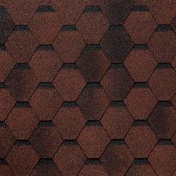 Картинка товара Гибкая черепица Tilercat Прима красный