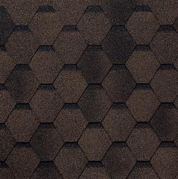 Картинка товара Гибкая черепица Tilercat Прима коричневый