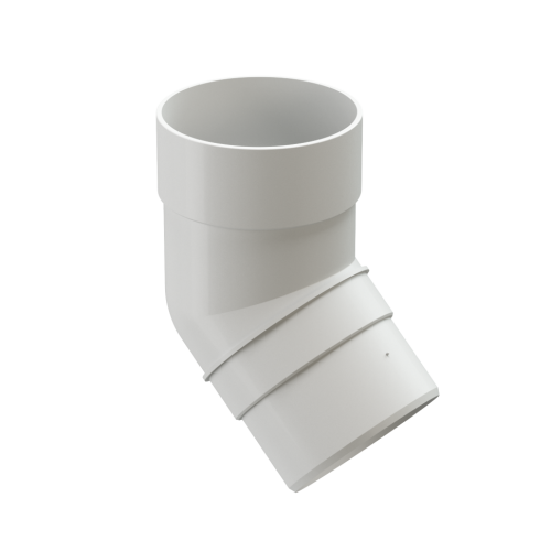Картинка товара Колено трубы 45 градусов Деке Премиум