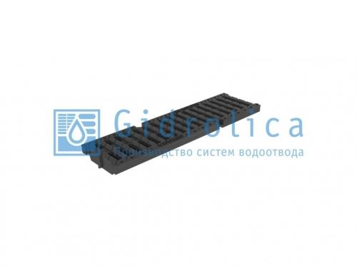 Картинка товара Решетка водоприемная Gidrolica Pro DN100 щелевая пластиковая