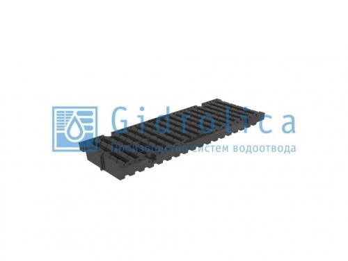Картинка товара Решетка водоприемная Gidrolica Pro DN150 щелевая пластиковая