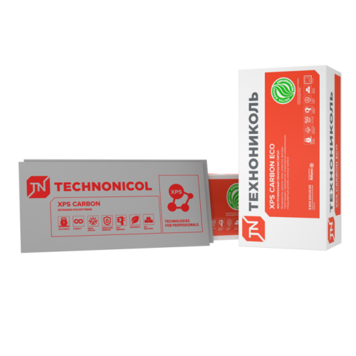Картинка товара Пенополистирол Технониколь XPS Carbon Eco 40 мм