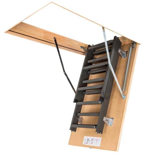 Картинка товара Чердачная Лестница Fakro LMS металлическая