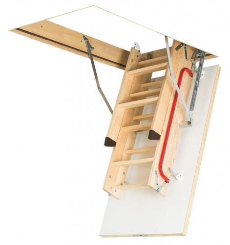 Картинка товара Чердачная Лестница Fakro LWK Plus деревянная