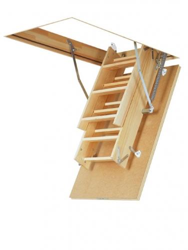 Картинка товара Чердачная Лестница Fakro LWS Plus деревянная