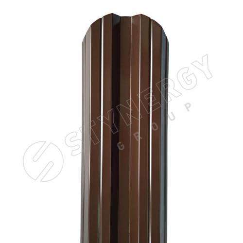 Картинка товара Штакетник Stynergy полукруглый М-образный PE 0,4 мм