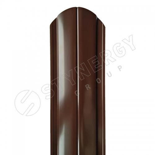 Картинка товара Штакетник Stynergy полукруглый R-образный PE 0,45 мм