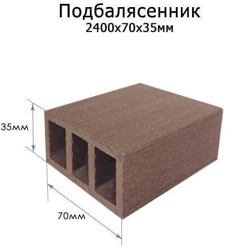 Картинка товара Ограждение ТЕРРАПОЛ Подбалясенник 70