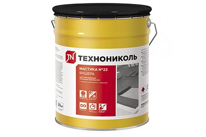 Картинка товара Мастика приклеивающая ТехноНИКОЛЬ №22 для кровли 20 кг.