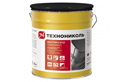 Картинка товара Мастика битумная ТЕХНОНИКОЛЬ №21 (Техномаст) для кровли