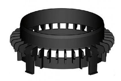 Картинка товара Дренажный фланец ТЕХНОНИКОЛЬ для трапа типа Т (Д2)