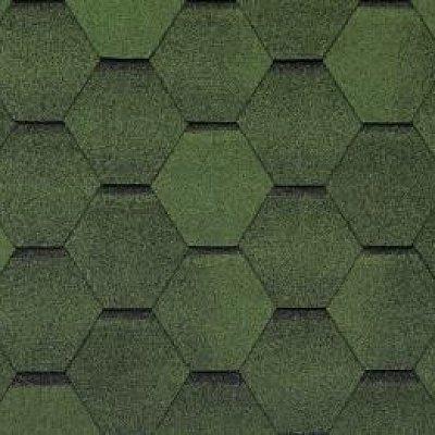 Картинка товара Черепица Тегола Top Shingle Смальто Зеленый