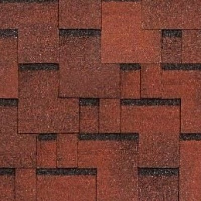Картинка товара Черепица Тегола Top Shingle Футуро Красный