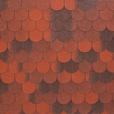 Картинка товара Черепица Тегола NOBIL TILE Верона Красный с отливом