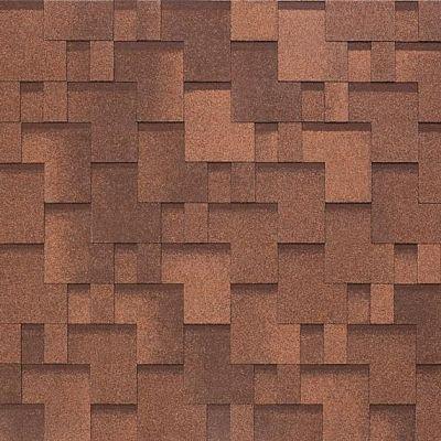 Картинка товара Черепица Тегола NOBIL TILE Акцент Красно-коричневый