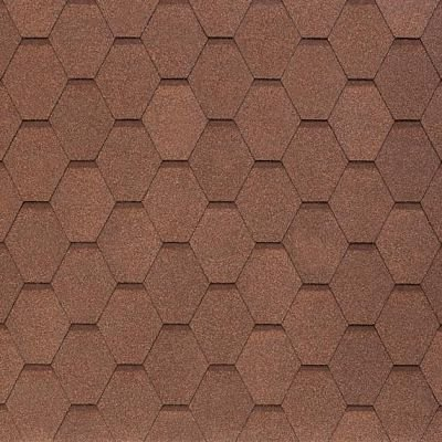 Картинка товара Черепица Тегола NOBIL TILE Вест Светло-коричневый