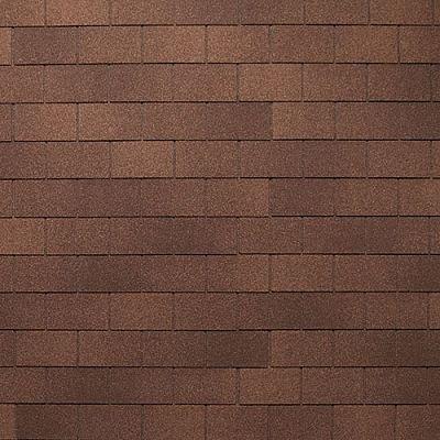 Картинка товара Мягкая кровля Тегола Нордлэнд Классик Коричневый с отливом