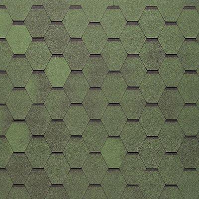 Картинка товара Черепица Тегола Нордлэнд Нордик Зеленый с отливом