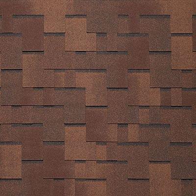 Картинка товара Черепица Тегола Нордлэнд Альпин Коричневый с отливом