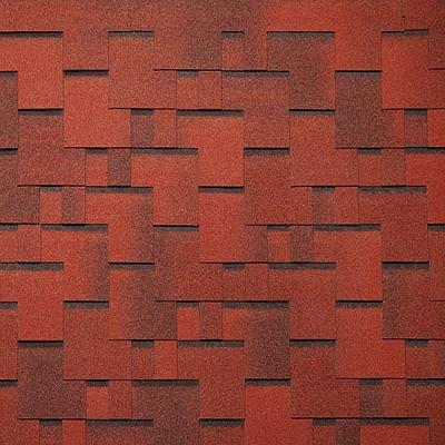 Картинка товара Черепица Тегола Нордлэнд Альпин Красный с отливом
