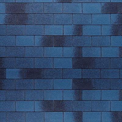 Картинка товара Мягкая кровля Тегола Нордлэнд Классик Синий с отливом