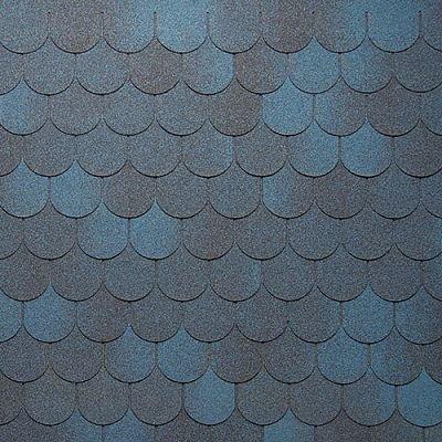 Картинка товара Мягкая кровля Тегола Нордлэнд Антик Синий с отливом