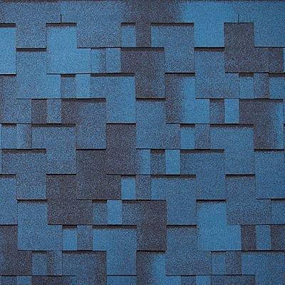 Картинка товара Черепица Тегола Нордлэнд Альпин Синий с отливом