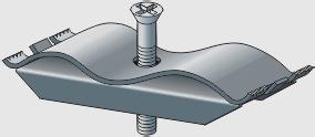 Картинка товара Крепёж ЛВ-Б-10.4.3,5-ОС к лотку водоотводному бетонному и полимерпесчаному
