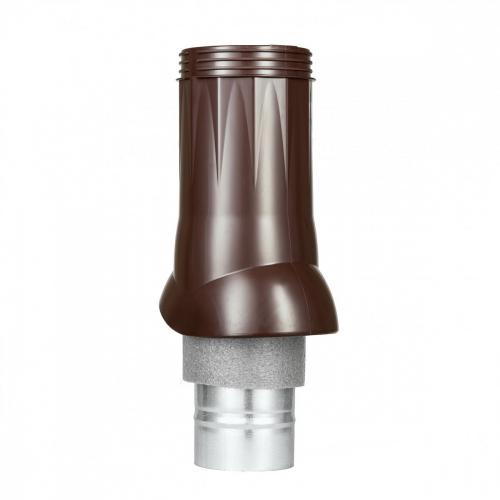Картинка товара Вентиляционный выход ND d125/160 изолированный коричневый