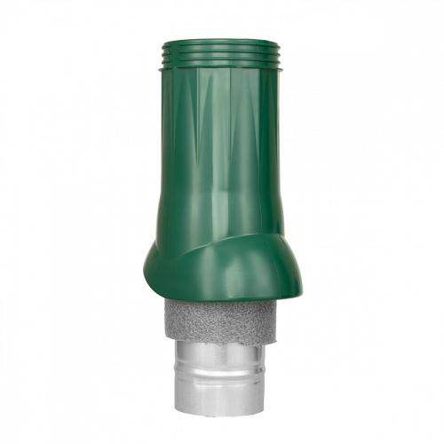 Картинка товара Вентиляционный выход ND d125/160 изолированный зеленый