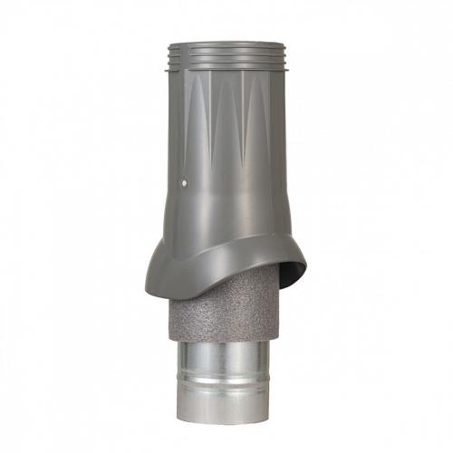 Картинка товара Вентиляционный выход ND d125/160 изолированный серый